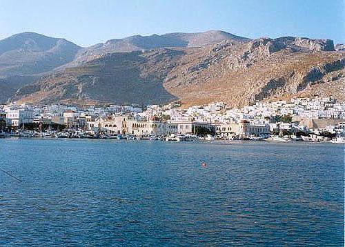 Pothia, el puerto de Kalymnos.