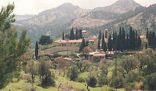 Nea Moni, el monasterio de Kíos