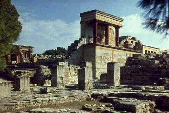 Palacio de Knossos, Creta, Grecia