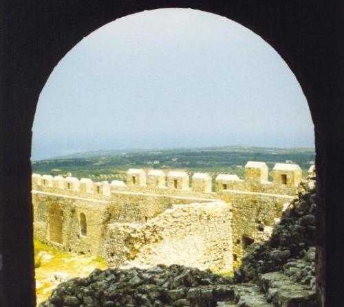 Vistas desde el Castillo de Chlemoutsi