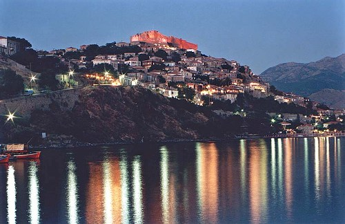 Mytilini, en la isla de Lesbos
