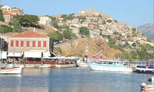 Lesbos, Islas del Egeo