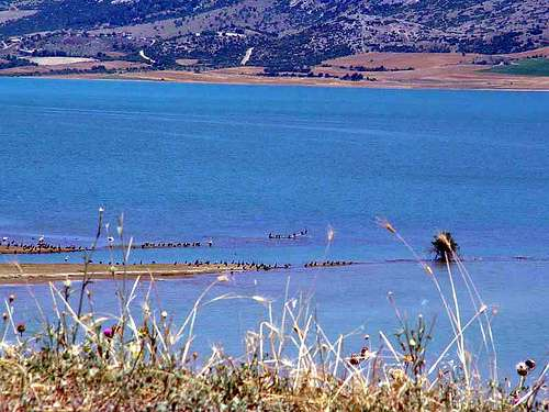 Lago Polyfytos, Kozani, Macedonia occidental