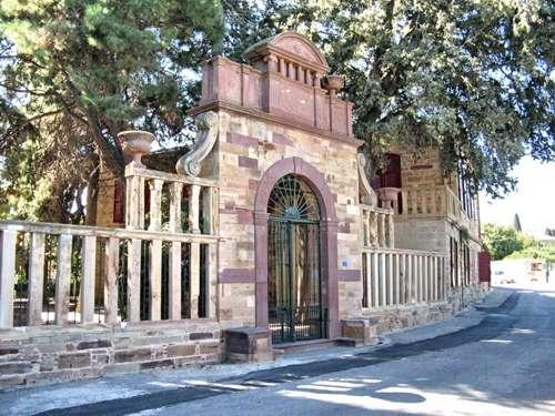 Mansiones genovesas de Kambos, en Kios