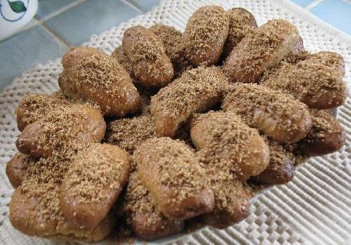 Melomakarona, dulces navideños de Grecia