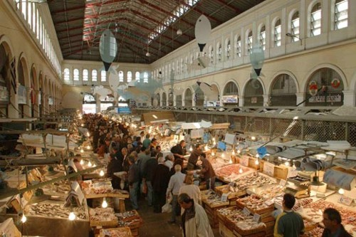 Mercado central de Atenas