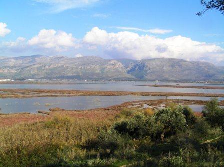 Lago salado, Mesolongi