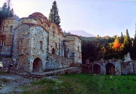 Mistra, colina de palacios