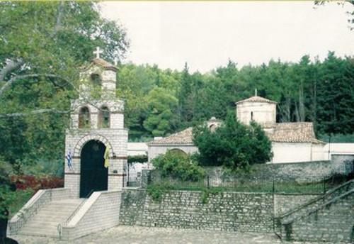 San Simeón y Pleuron, monumentos de Mesolongi