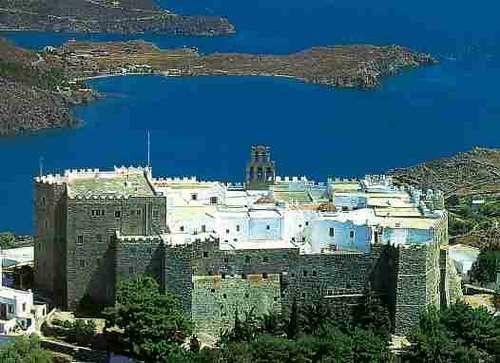 La cueva del Apocalipsis en Patmos