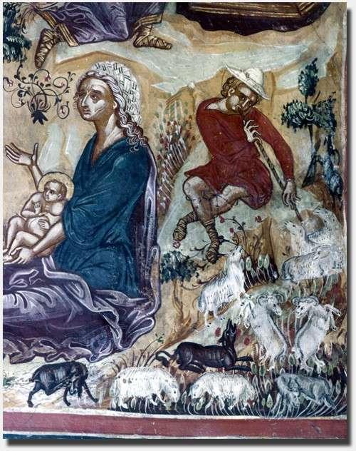 Mural del nacimiento