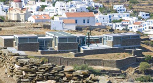 El museo de la marmolería de Pyrgos