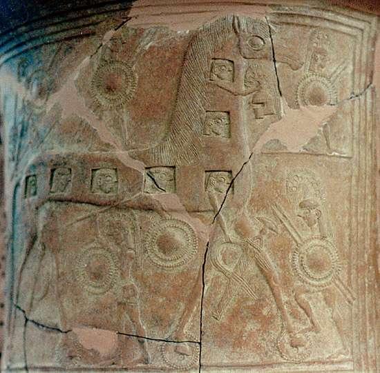Caballo de Troya, Museo Arqueológico de Mykonos, Islas Cicladas