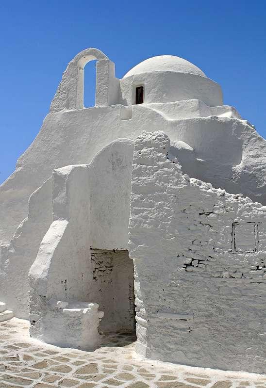 Panagia Paraportiani, iglesia de Mykonos