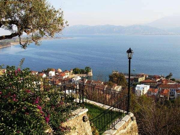 Nafpaktos, grecia central