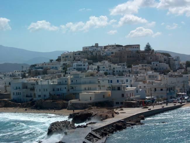 La isla de Naxos, su corazon y la costa