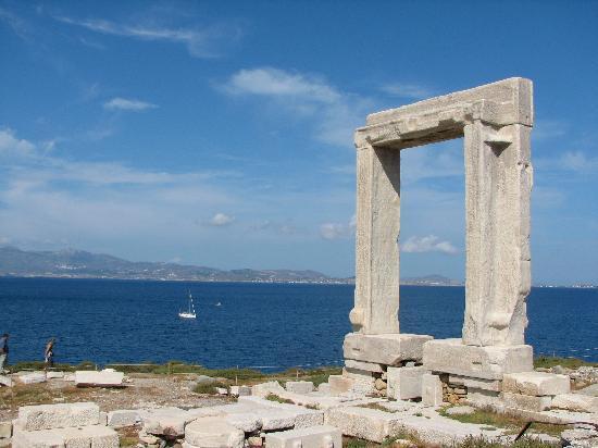 Portará, Naxos, Islas cicladas, Grecia