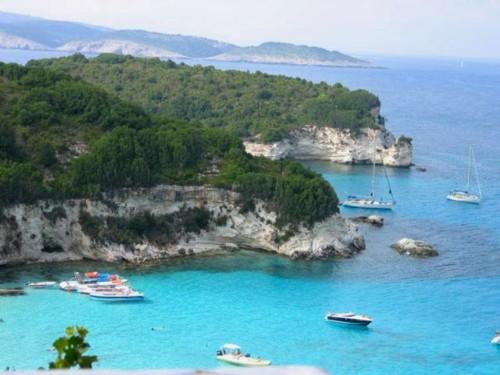 Una visita a las islas Diapondía, en el mar Jónico