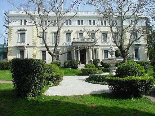 El Palacio Presidencial de Atenas
