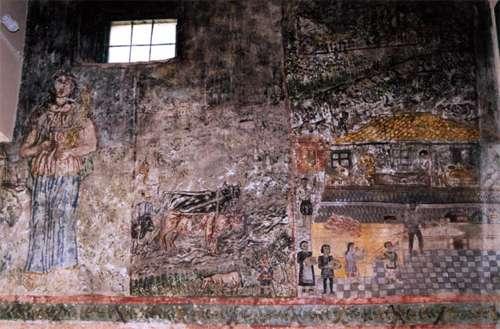 Mesagros, antigua y pintoresca en Aegina