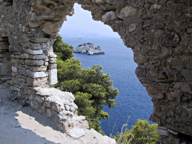 panoramica pargas, castillo, epiro