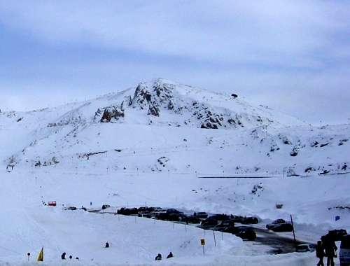 esqui en Monte Parnaso