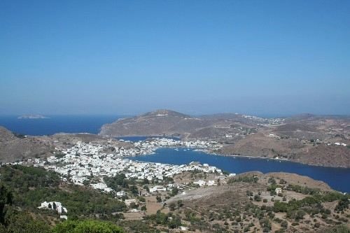 Skala, el puerto de Patmos