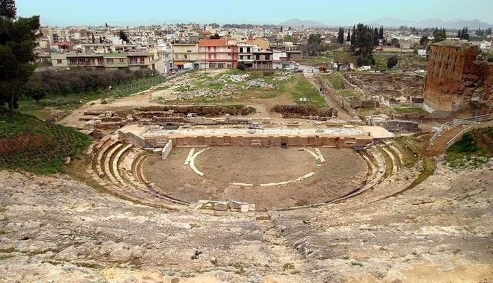 Teatro argos, peloponeso