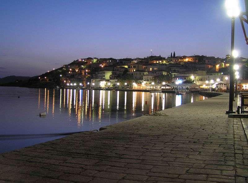 Mandrakia, noche, Ermioni, Peloponeso