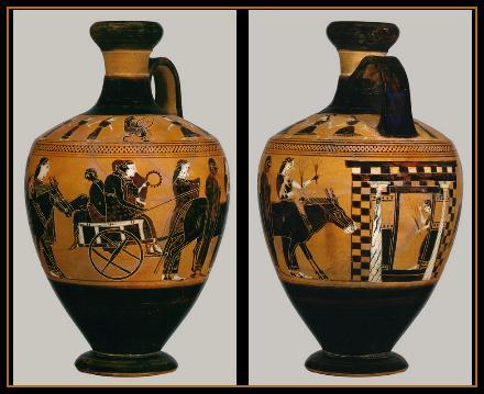 Arte en la Antigua Grecia: las figuras negras