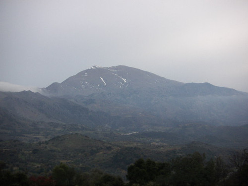 Montaña Idis, la más alta de Creta