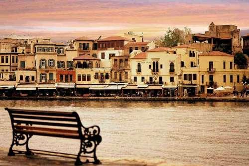 Puerto antiguo de Chania