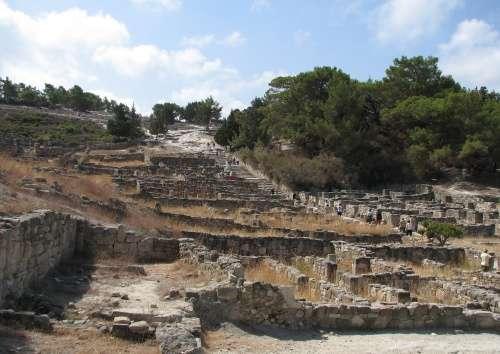 Antigua Kamiros, Rodas, Dodecaneso