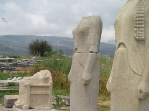 Hereo de Samos, Egeo Norte
