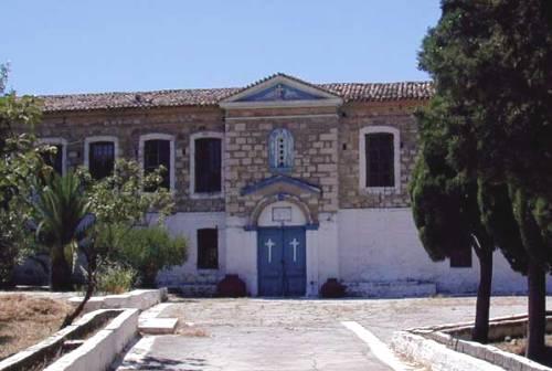 Samos, Monasterio Profitis Ilias, isla Egeo Norte