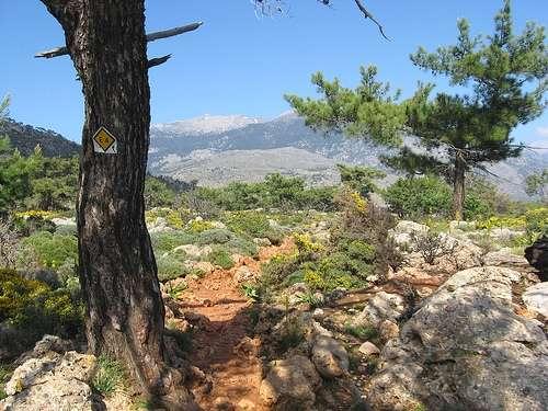 Senderismo en Grecia