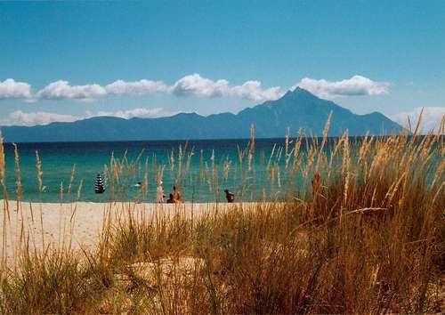 Calcídica, las tres penínsulas