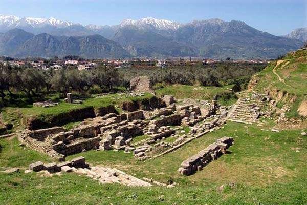 Teatro de la Acrópolis de Esparta, Laconia