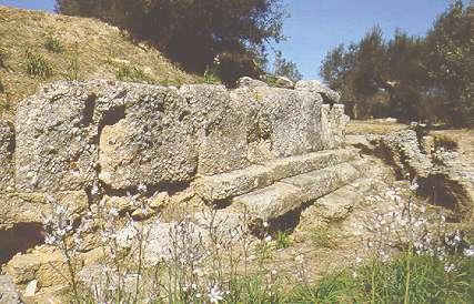 Amiclas, lugar de la historia