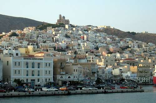 Mykonos y Syros