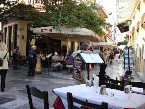 Los Mejores Lugares Para Cenar En Atenas
