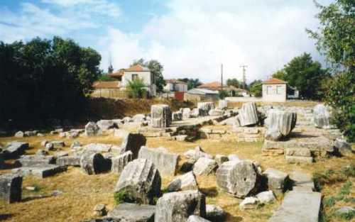 Templo de Atenea en Tegea