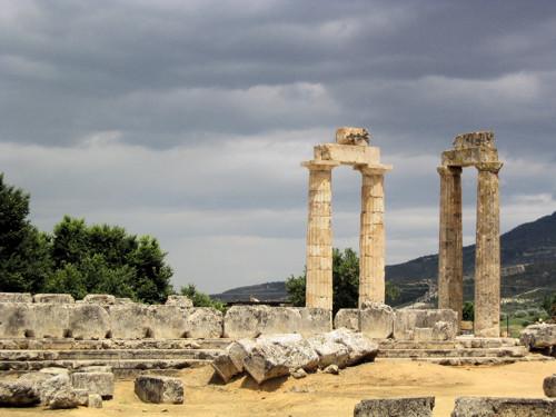 Templo de Zeus en Nemea