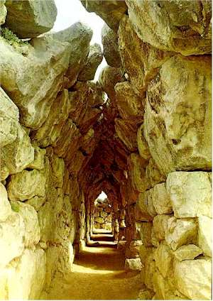 Fortaleza de Tirinto, Peloponeso