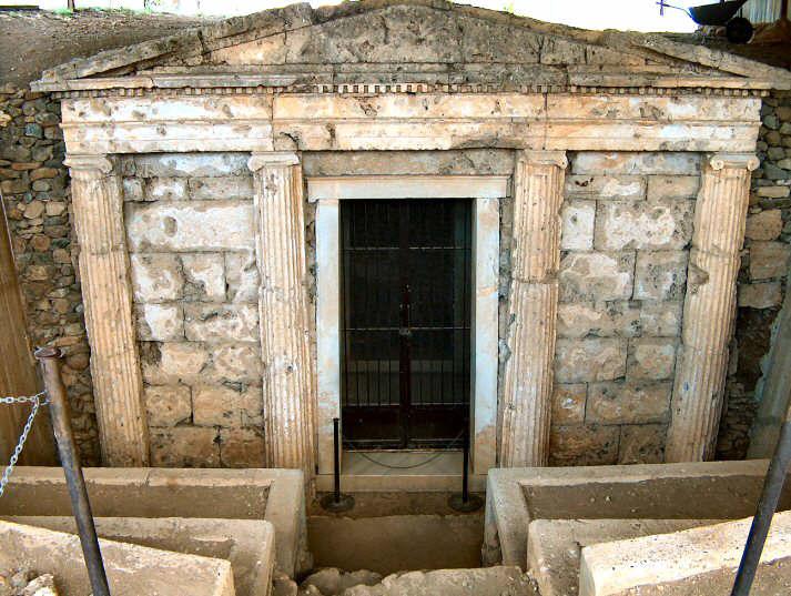 Tumba de Filipo II, Vergina, Macedonia