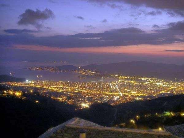 volos noche, pelion, grecia central