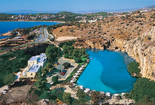 Vouliagmeni, destino costero cerca de Atenas