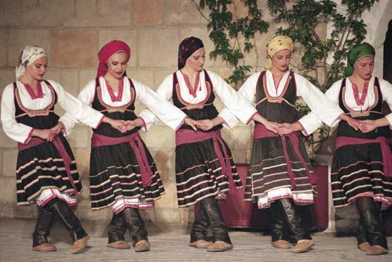 Bailes y música en Grecia