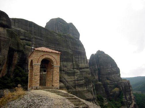 Entrada en Meteora